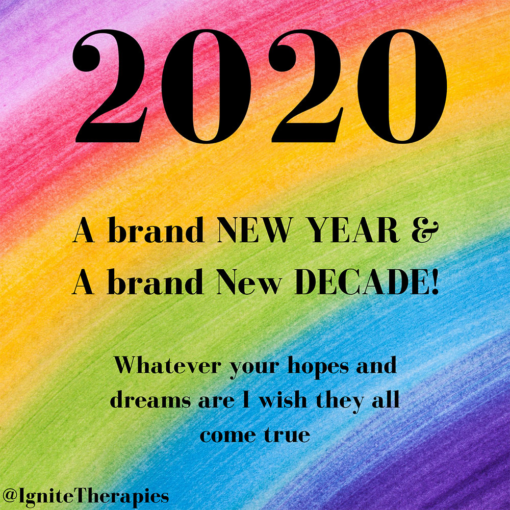 A brand new year and a brand new decade!